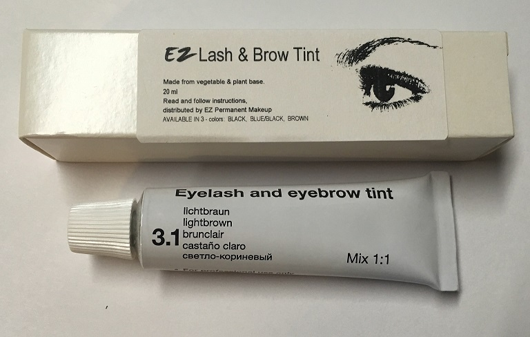 Tint Light Brown Single Tube