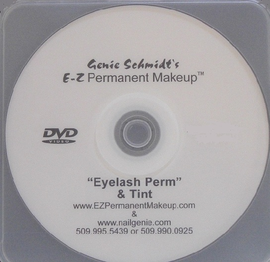 Eyelash Lift/ Perm & Tint Instructional DVD