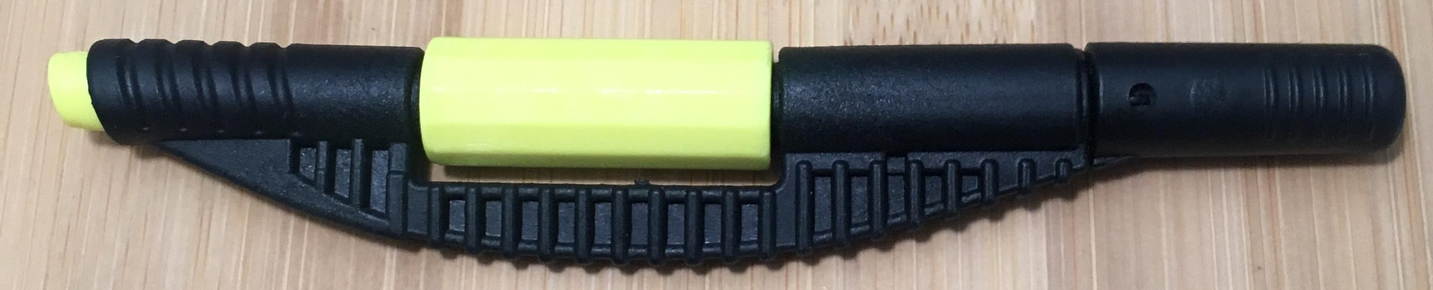 Currently out of stock!! BLACK AND YELLOW HANDLE