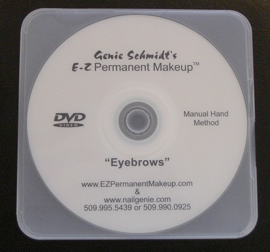 Eyebrow Instructional DVD