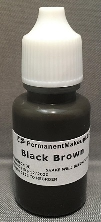Black-Brown Pigment 1/3oz