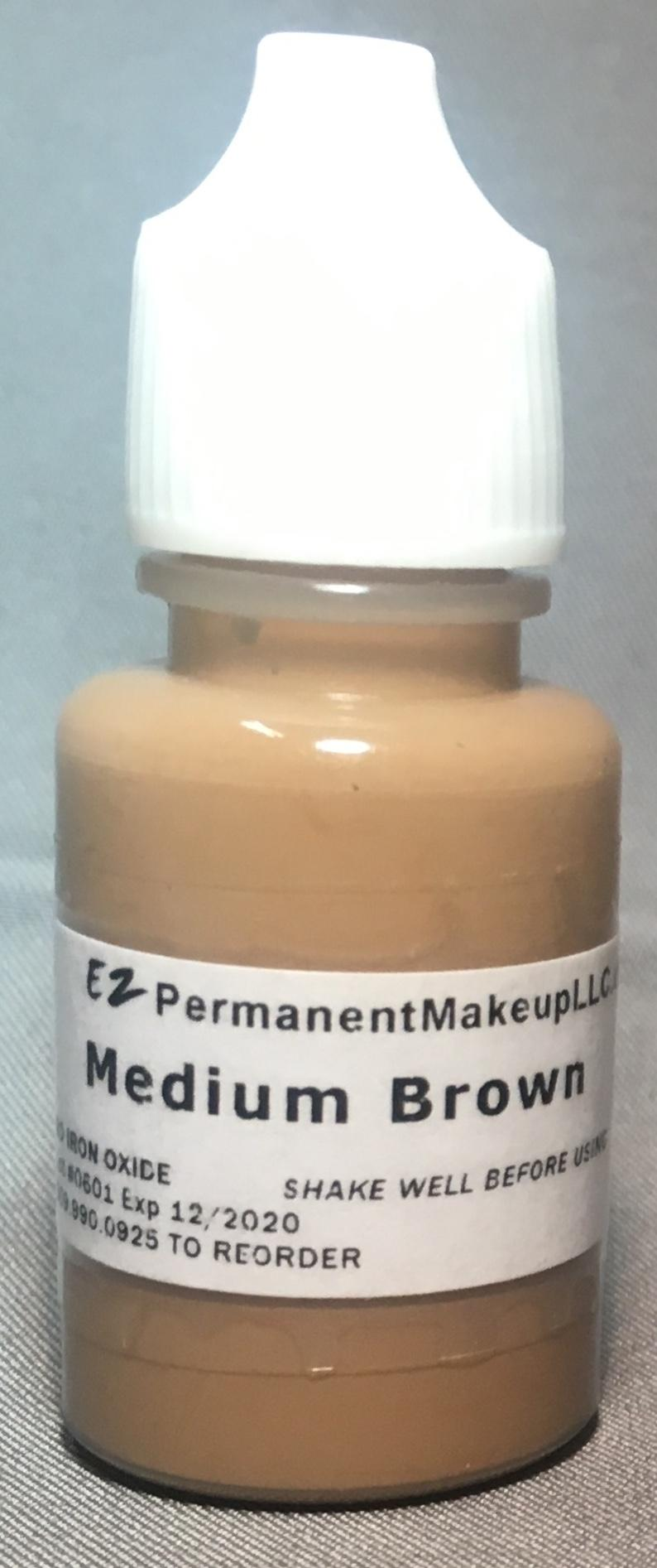 Medium Brown Pigment 1/3oz