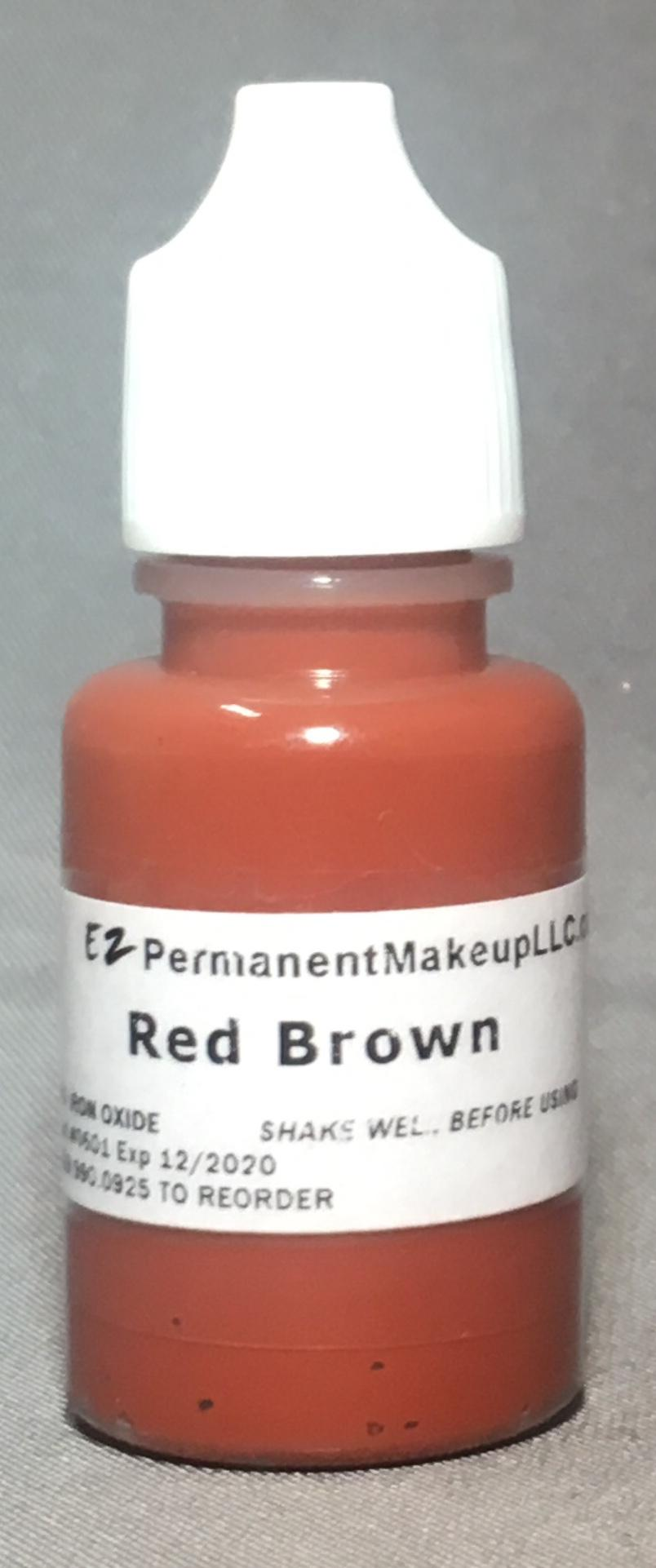 Red Brown Pigment 1/3oz