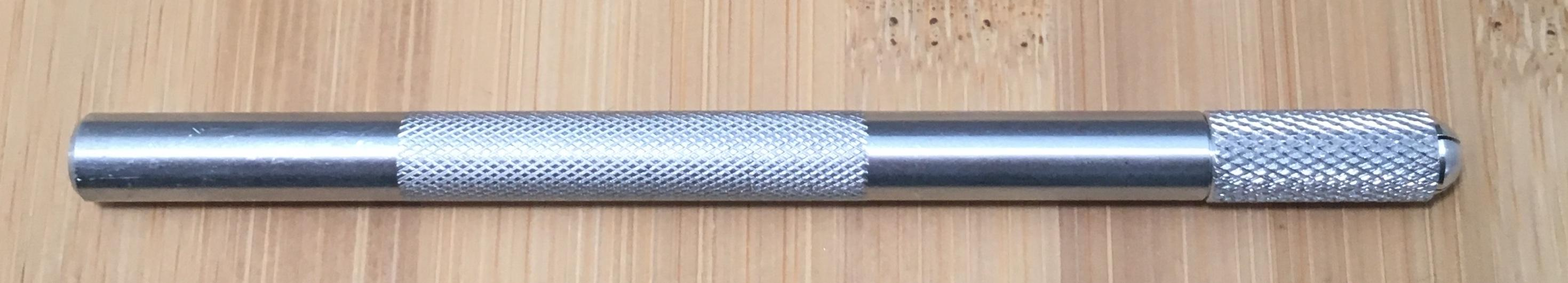 SILVER TUNGSTEN HANDLE